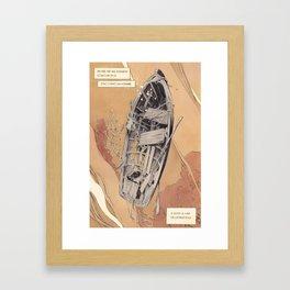 A Phoenician prayer Framed Art Print