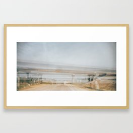 Briges of Gray County Framed Art Print