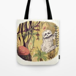 Sloth Bear Tote Bag