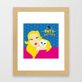 Cat´s Mother Framed Art Print