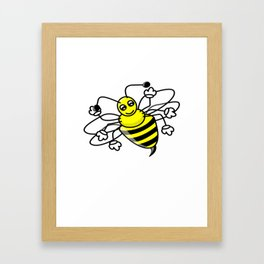 100 Days of School Survived 100 Days of Me bee Framed Art Print