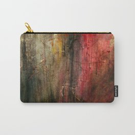 Fall Abstract Acrylic Textured Painting Carry-All Pouch