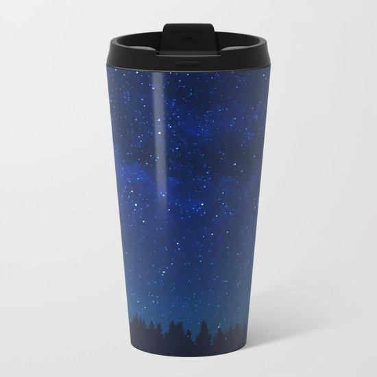 WATCHING THE STARS Metal Travel Mug