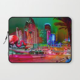 City Night Lights Laptop Sleeve