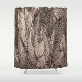 Epona -Celtic Shower Curtain