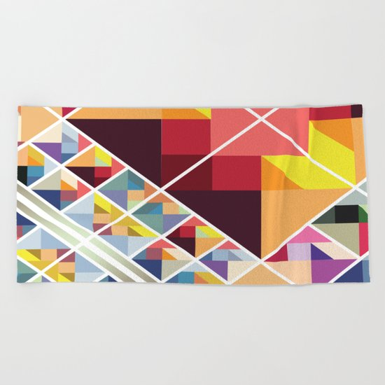 Let's Stick Together Beach Towel