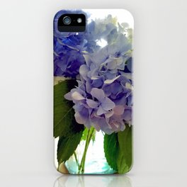 Hydrangea Bouquet iPhone Case