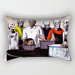 The Bastards' Cooking School of Satan Rectangular Pillow