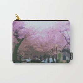 Cherry Blosssoms at Stanton Park Carry-All Pouch
