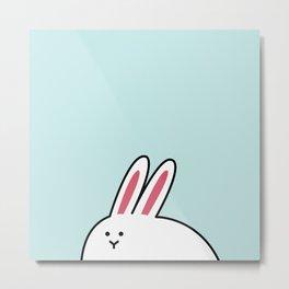 A-Shi Rabbit Metal Print