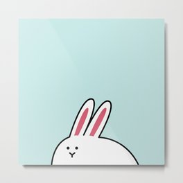 A-Shi Rabbit Metal Print