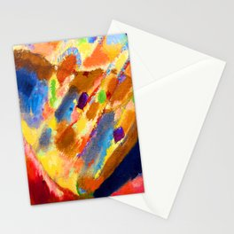 Wassily Kandinsky Three Spots Stationery Cards