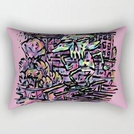 Long Time Coming Rectangular Pillow