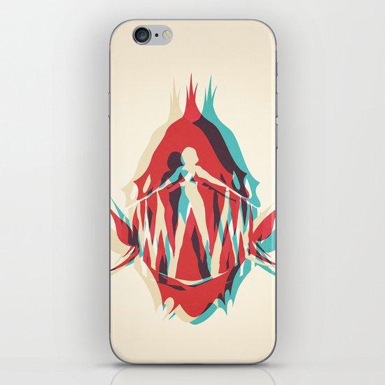 Piranha Girl iPhone & iPod Skin