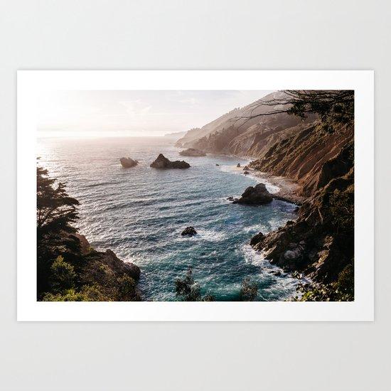 Big Sur Coast by eastlynbright