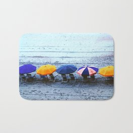 Myrtle Beach Umbrellas Bath Mat