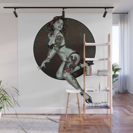 Zombie Pin-Up Wall Mural