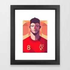 SG8 | Reds Framed Art Print