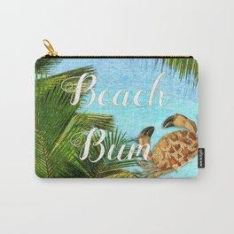Beach Bum Summer Fun Carry-All Pouch