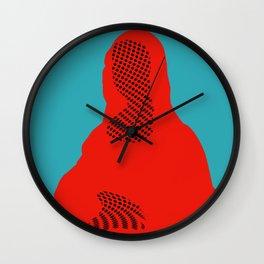 Mona, nu mach aber mal ein Punkt ·5 Wall Clock