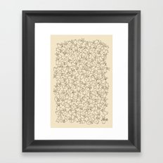 The Last Carrot Framed Art Print