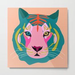 New tiger Metal Print