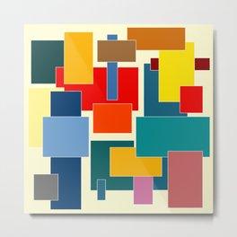 Color Blocks #8-3 Metal Print