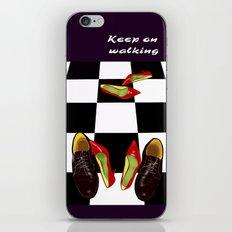 Shoeday  iPhone & iPod Skin