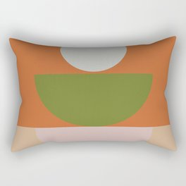 Geometric Shapes #fallwinter #colortrend #decor Rectangular Pillow