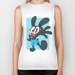 Oswald The Lucky Rabbit Biker Tank