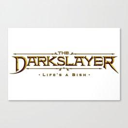 The Darkslayer - Logo Canvas Print