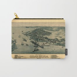 Map of Cedar Key 1884 Carry-All Pouch