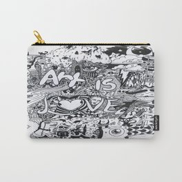Art is Love Carry-All Pouch
