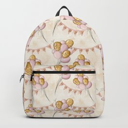 Birthday Balloons Pattern Backpack