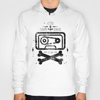 tape Hoodies featuring Pirate Tape by melted