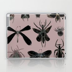 Entomology black and Antique Rose Laptop & iPad Skin