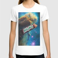 milky way T-shirts featuring The Milky Way by John Turck