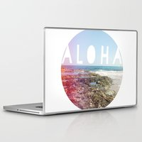 aloha Laptop & iPad Skins featuring Aloha by Sunkissed Laughter