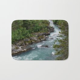 Alaska River Canyon - II Bath Mat