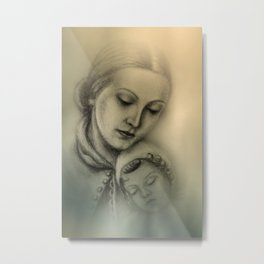 in a forgotten time Metal Print