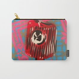 Pink Border Cap Carry-All Pouch