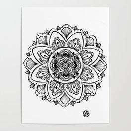 Dream Mandala Poster