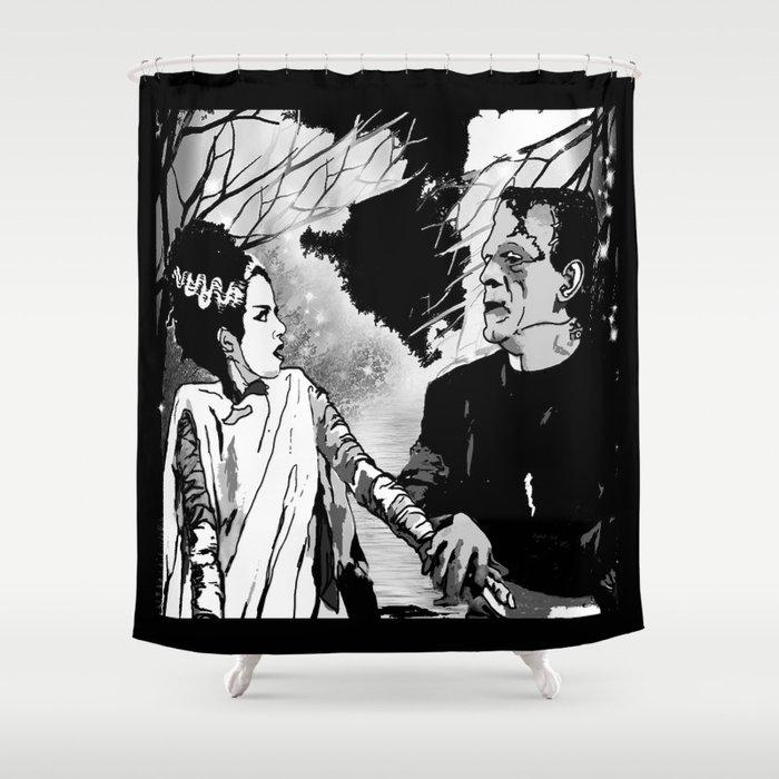 FRANKENSTEIN Shower Curtain By Saundramyles