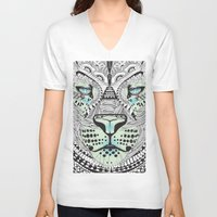 kit king V-neck T-shirts featuring Kit Mambo by eos vector