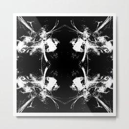 Black Mirror Metal Print