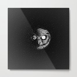 Moon Blinked Metal Print