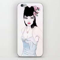 mac iPhone & iPod Skins featuring ABBIE MAC by michael newton