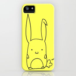 Poot the Bunny iPhone Case