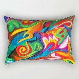Veridical Knowledge Rectangular Pillow