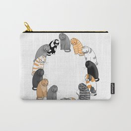 A Cat's Patience Carry-All Pouch